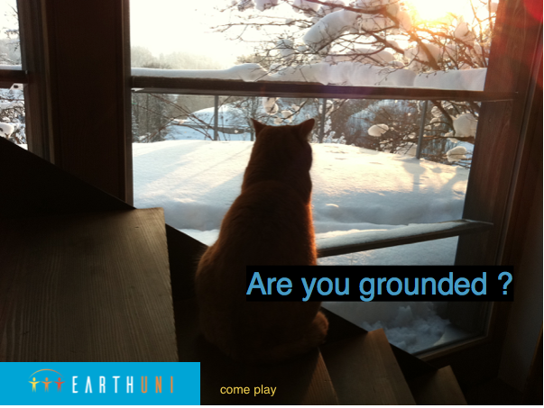 grounded again, earthuni